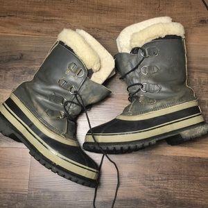 Sorel Caribou Snow Boots Size 7.5